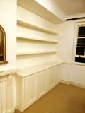 Hammersmith I only use certified qualified craftsmen for our joinery installations